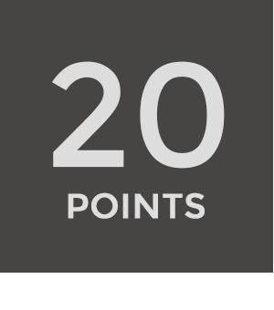 20 punten oefening